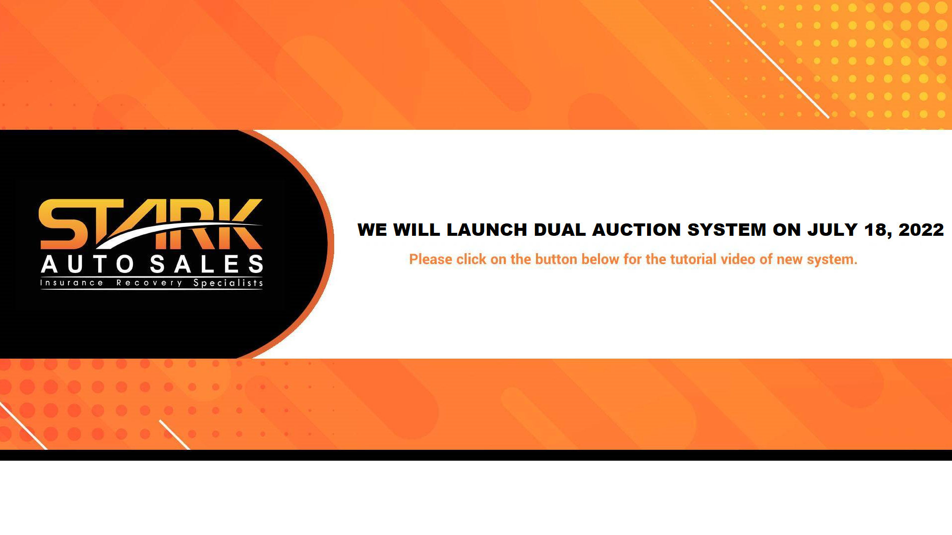 Stark Auto Sales Splash Notification Image